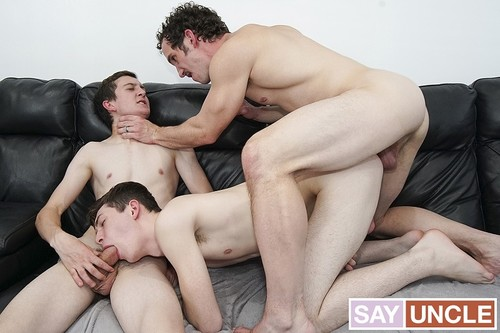 FamilyDick - The Jealous Nephew: Jack Andram, Dakota Lovell, Greg McKeon Bareback (May 30)