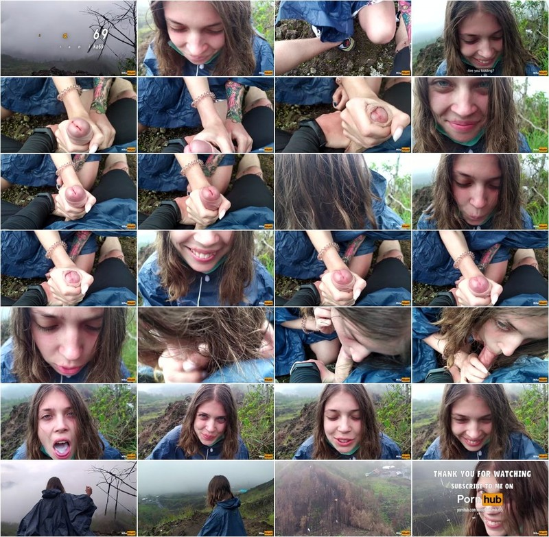[MihaNika69] - MihaNika69 - I Jerking off my Guide in the Mountains - Public POV - Pulsating Cum Mouth (2020 / FullHD 1080p)