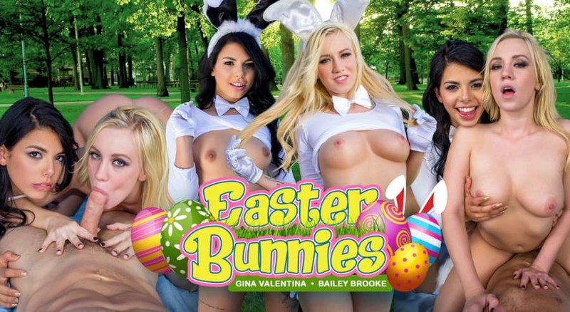 Easter Bunnies Oculus Go Remastered 1920p