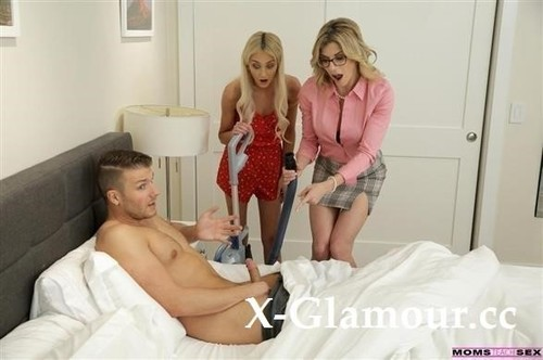 Mom His Dick Is Stuck In A Vacuum Cleaner [HD]