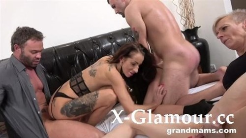 A Group Of Horny Grannies - Grand Mams (HD)