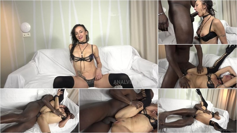 Lina Cypher casting with big black cock KS077 [HD 720P]