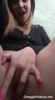 Periscope Fingering my pussy in rainbow socks - Periscope Girls