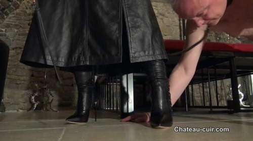 FemDom The price of leather worship part 1 - Worship, Mistress