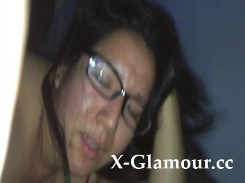 Amateurs - Plump Naughty Chick With Glasses Enjoys A Hardcore Pounding Session (SD)