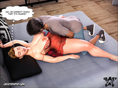 CrazyDad3d - Father-in-law at home 16 - Full comic