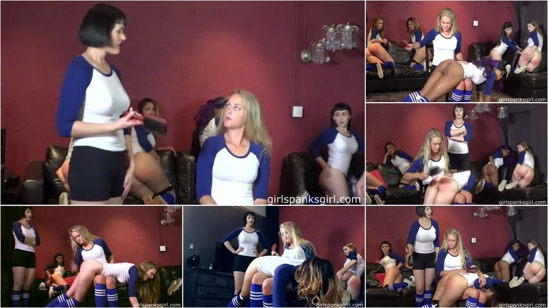 Unknown - EE14: Volleyball Team Spanking Part 4 [FullHD 1080p]