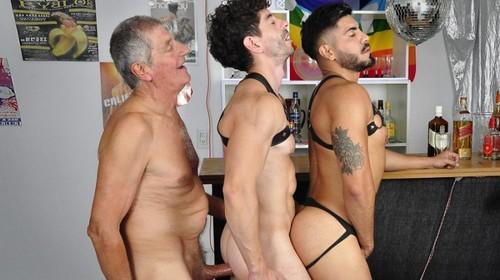 Older4Me - Last Call!: Chaco, Icarus & Victorino Bareback