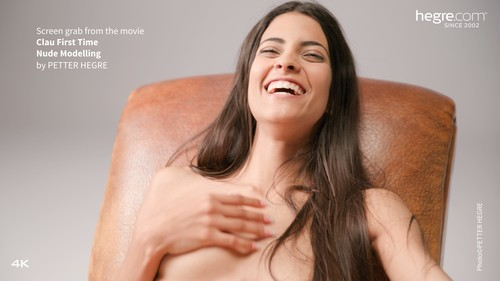 [Hegre-Art] Clau - First Time Nude Modelling
