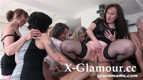 "Horny Grandmams, Toyboys in ""Grand Mams"" [FullHD]"