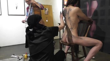 Naked Asian Exotic Art Performance - Nude Asian Public Theatre 6qvq635h2faz