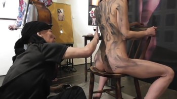 Naked Asian Exotic Art Performance - Nude Asian Public Theatre Mml24z45jdru