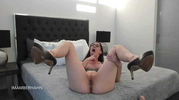 Amber Hahn - your little dick, 1080p