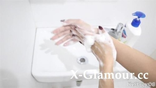 MsStacy08 - Horny Pinay Washes Her Hands To Stop The Spread Of Corona Virus - Msstacy08 [FullHD/1080p]