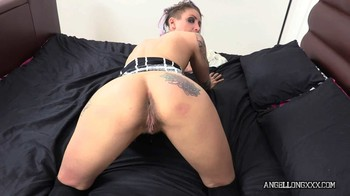 Angel Long - Hairy Pussy Creampie Fuck, 1080p