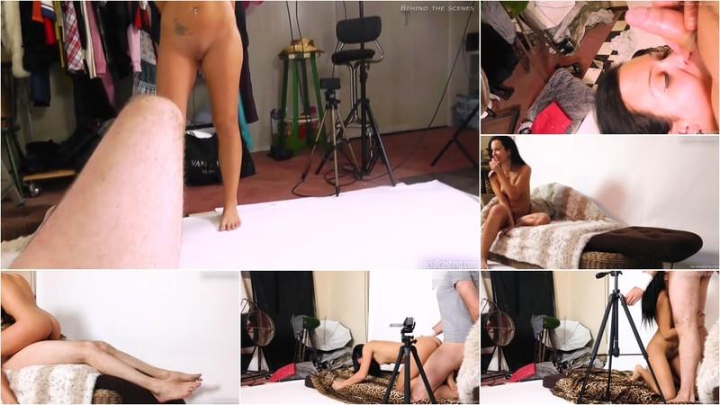Behind the scenes: Natali Blue [FullHD 1080P]