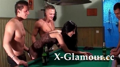 Pool Table Foursome [SD]