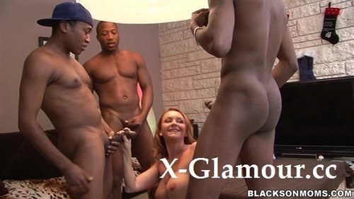 Janet Holds A Private Open House And Takes On Three Guys [HD]
