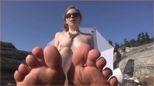 MistressT 11 03 19 Lick Sweaty Beach Feet And Ass XXX 720p WMV-WEIRD