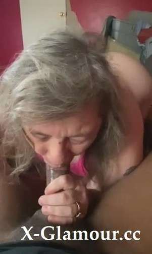 Granny Sucks Me Off And Then Takes My Bbc From Behind [SD]