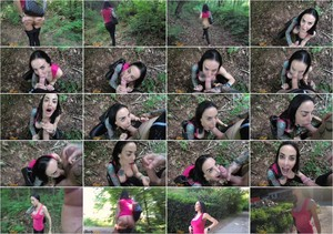 [Manyvids] ChantyChrys - FIRST OUTDOOR and PUBLIC CUM WALK BJ, CUMSHOT in Hair (FullHD/2020/493 MB)
