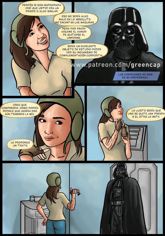 comics xxx de star wars