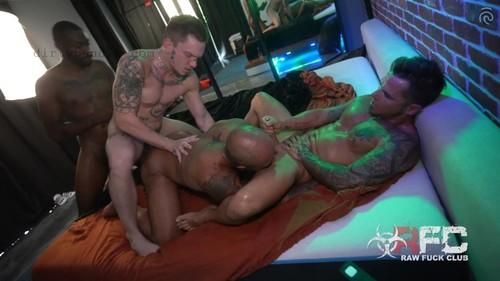 RawFuckClub - Hot Ass Foursome Part 2 Bareback (Sep 5)