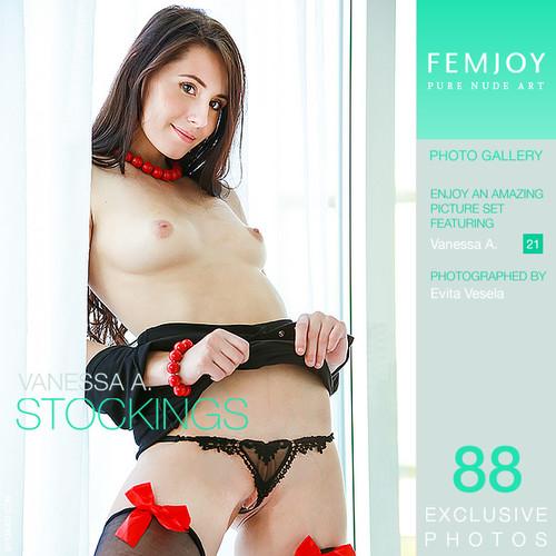 Vanessa A - Stockings (x88)