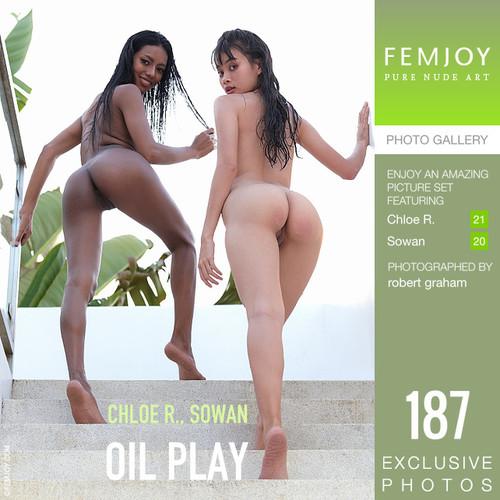 Chloe R Sowan - Oil Play (2020-08-10)