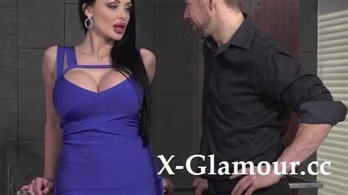 Kayla Green, Aletta Ocean - Dress-Wearing Beauty Blows In Front Of Her Gf [HD/720p]