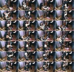 PinUpDominationByLadyVampira: Lady Vampira - Masochistic Passion In Chains Boobs And Breathplay (2020) 720p WebRip