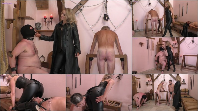 Three Slaves For Mistress Courtney [FullHD 1080P]