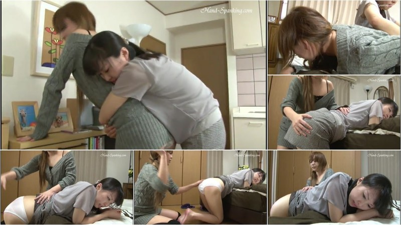 Chihiro, Ruka - Roommate Spanking [SD 480p]