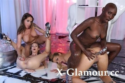 Cherry Kiss, Malena Nazionale, Tiffany Tatum, Zaawaadi - My Name Is Zaawaadi - Part 3 (SD)