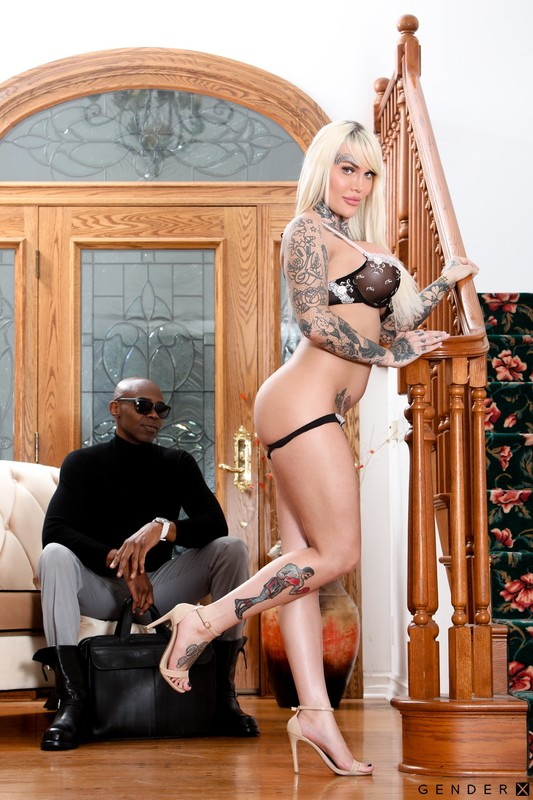 Interracial Transsexuals – Nadia Love & Sean Michaels (25 September 2020)