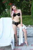 Angelina Ash - Pool Time