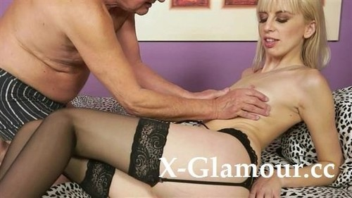 Hot Blonde Craves Old Cock [HD]