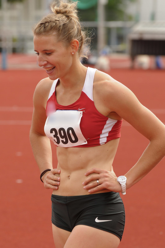 track & field athletic girls spandex fetish voyeur