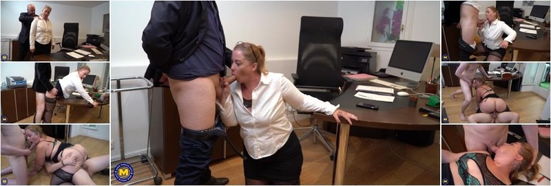 Jeny White - Big ass mature secreteary getting a threesome at the office (FullHD)