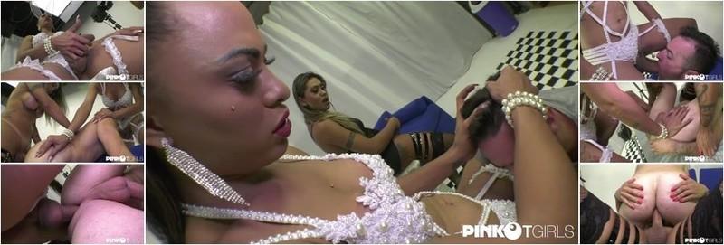 Keylla Marques, Leticia Castro - Keylla And Leticia Enjoy In Amazing Threesome (FullHD)