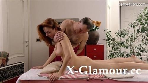 Amy Ledenez - Virgin Massage (HD)