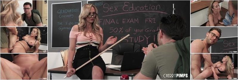 Brett Rossi - Fuck Me Or You Fail Sex Education (HD)