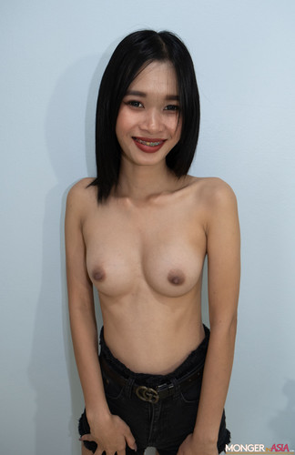 Mongerinasia - Bussaba -  Pretty Thai Teeny Bopper Knocked Up on Hidden Camera NEW 2020