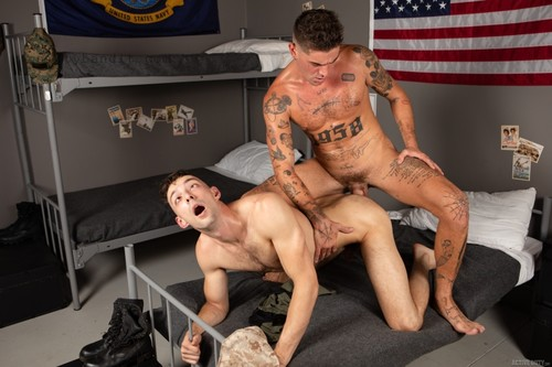 ActiveDuty - Chris Damned Rails Johnny B Bareback (Oct 18)