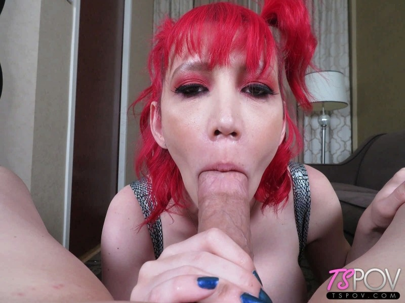 [TSPOV] Krystal Syx - Krystal Syx All Dolled Up To Suck A Big Dick [HD, 1080p]