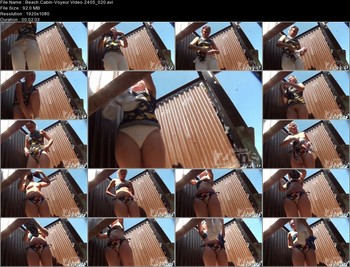 Beach Cabin-Voyeur Video 2405 020