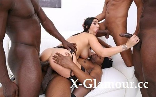 Lady Gang - Interracial Double Penetration With 4 Bbc Sz2497 (SD)