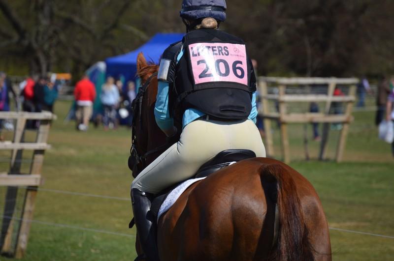horse rider chick in candid jodhpurs