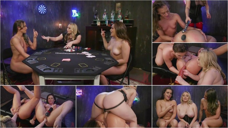 Aiden Starr, Kimber Woods, Cheyenne Jewel - Strip Poker: Three Anal Whores Go All In [SD 540p]