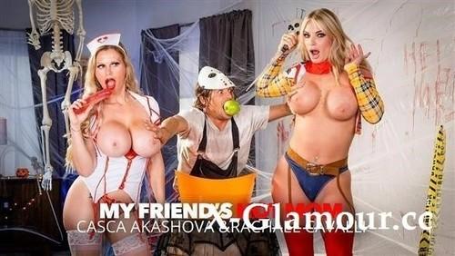 Casca Akashova, Rachael Cavalli - Milfs In Costume, Casca Akashova And Rachael Cavalli, Need Some Dick After A Big Scare!! [HD/720p]